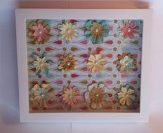 Custom Shadow Box decoupage papercraft made by Handmade Family Gifts, handmadefamilygifts.com