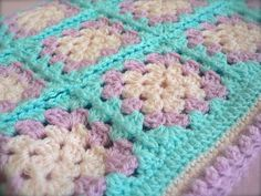 Mabel Baby Blanket Kits and Patterns available at www.getknitted.com
