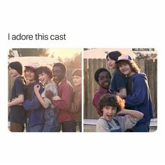 Love them so muchhhh Stranger Things Actors, Stranger Things Quote, Stranger Things Have Happened, Zack Y Cody, Saints Memes, Stranger Danger, Don T Lie, Best Shows Ever, Movies Showing