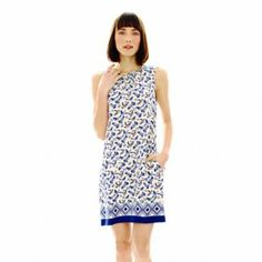 Joe Fresh™ Sleeveless Print Dress   found at @JCPenney