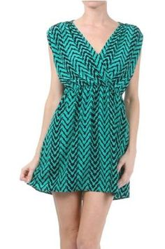 ~Jade Printed Dress~ FREE Shipping~