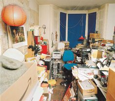 Russell Hoban's writing room. via The Guardian