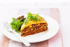 Vegetarian mexican lasagne main image