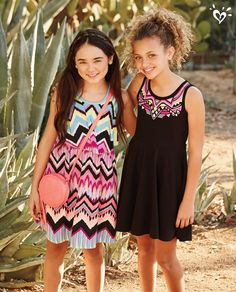 In our boho dress collection, there's a must-have style for Girls Dresses Tween, Tween Girls, Summer Outfits Women, Kids Outfits, Cute Outfits, Justice Clothing, Kids Clothing, Tween Fashion, Night Outfits