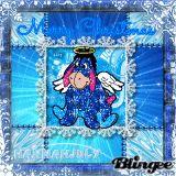 Angel Eeyore - Merry Christmas