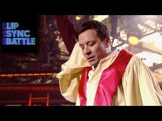 "Jimmy Fallon's ""Like A Prayer"" vs Dwayne Johnson's ""Stayin' Alive"" | Lip Sync Battle - YouTube"