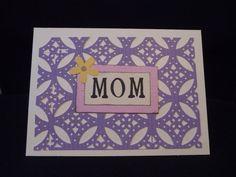 Pretty Mother's Day Card via Etsy.