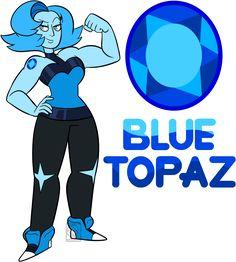 Surprise Custom Blue Topaz Masculine Female for I hope you like her! Steven Universe Oc, Steven Universe Characters, My Gems, Art World, Cute Art, Blue Topaz, Nerd, Height Chart, Cool Stuff
