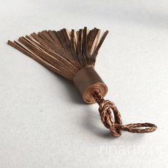 Bronze metallic leat