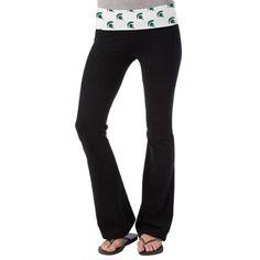So Low Michigan State Spartans Womens Ditsy Yoga Pants - Black #Fanatics