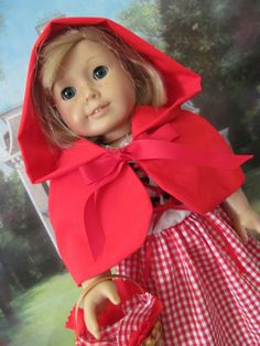 Halloween Costume Red Riding Hood  Dress Up by fashioned4you, $26.00