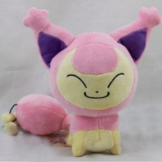 Pokemon Plush 7.2 Inch / 18cm Skitty Doll Stuffed Animals Figure Soft Anime Collection Toy – Pokemon Toys: Soft toys