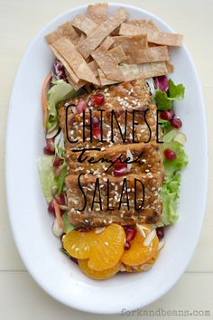 Chinese Tempeh Salad