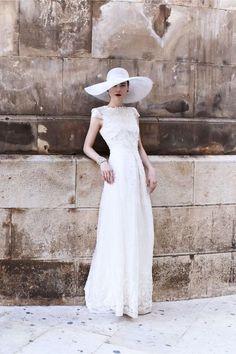 Sombreros para novia | Preparar tu boda es facilisimo.com