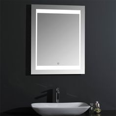 YJ-1970 Led Mirror, Mirror With Lights, Mirror Glass, Shower Panels, Master Bath, Faucet, Sink, Bathroom, Furniture