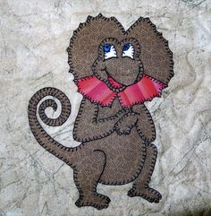 Frilled lizard PDF applique pattern Australian by MsPDesignsUSA