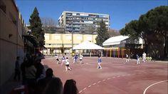 Futbol sala infantil Oroquieta Espinillo contra Pilaristas