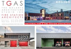 The Galante Architecture Studio, Inc.  National Fire & EMS Design Specialists   Visit our website www.galantearchitecture.com for more of our projects, or call us for more information!  #TGAS #architecture #firehousearchitect #Boston #NewYork