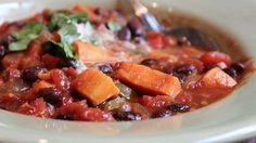 """Sweet Potato Black Bean Chili 