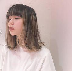 pretty hairstyles for work Thin Hair Short Hair Styles Easy, Short Hair Updo, Medium Hair Styles, Curly Hair Styles, Japonese Girl, Hair Color Streaks, Shot Hair Styles, Hair Arrange, Aesthetic Hair