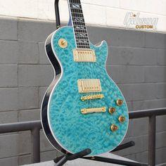 Bahama Blue Les Paul...