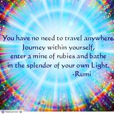 Tag someone who would love this #rumi #thirdeye #consciousness #abundance #happy #light #nature #creative