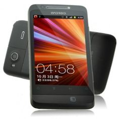 """Touch Screen Smart Cell Phone G510+ Black Colour with 3.5"""" Android 2.3.4 Unlocked Dual Sim Quad Bands Analog TV/JAVA/WIFI/FM/Bluetooth Capacitive. http://bestmobilephone.bestcutegifts.com/"""