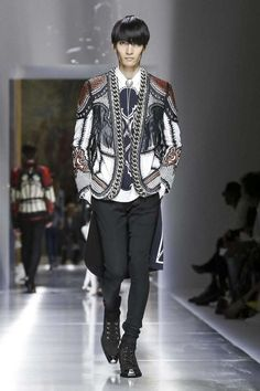 Balmain Menswear collection