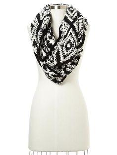 gap aztec infinity scarf $39.95