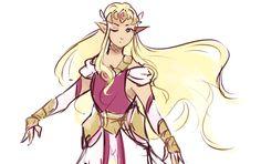 The Legend of Zelda - Princess Zelda The Legend Of Zelda, Zelda Video Games, Princesa Zelda, Hyrule Warriors, Link Zelda, Twilight Princess, Breath Of The Wild, Video Game Art, Super Smash Bros