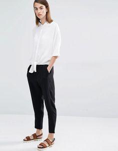 Immagine 4 di Selected - Divis - Camicia con lacci