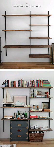 creative shelving systems