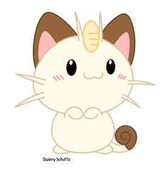 Chibi Meowth by Daieny on deviantART