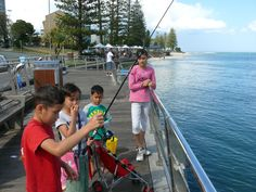 Fishing at Caloundra! - have done this with my kids not too long ago! Port Arthur, Life Learning, Coast Australia, History Teachers, Beach Scenes, Sunshine Coast, Tasmania, Historical Sites, Colleges