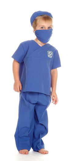 03d71798866 Children's Kids Boys Girls Male Nurse Medic Doctor Surgeon Fancy Dress  Costume