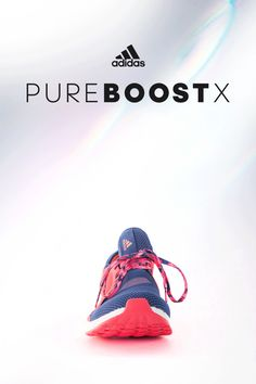 You are your greatest competitor – make every moment intentional. Unleash energy more efficiently in every stride with PureBOOST X by adidas. From BOOST midsole that provides more energy return than competitors to the state of the art motion tracking technology, PureBOOST X is a high performance shoe that doesn't sacrifice comfort for fashion. Click through to lace up and make your move with PureBOOST X today.