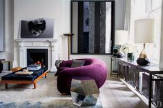 Francis Sultana Updates a Historic London House with Cutting-Edge Art : Architectural Digest