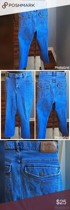 "Ralph Lauren Jeans Lauren Jeans Co Ralph Lauren Jeans. Excellent condition very comfortable. Measures 36"" in the waist with a 30"" inseam. Ralph Lauren Jeans Boot Cut"