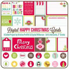 Happy Christmas Digital & Printable Kit