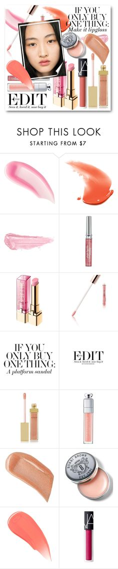 """#If You Only Buy One Thing: Lipgloss"" by nikkisg ❤ liked on Polyvore featuring beauty, Chantecaille, By Terry, Sisley, L'Oréal Paris, Kardashian Beauty, Gucci, Bohemia, AERIN and Christian Dior"