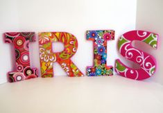 Decorative Letters For Wall Art