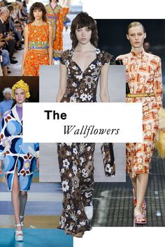 The 11 top trends of Spring 2017: the Wallflowers