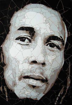 Marley - Mosaico feito de VIDRO