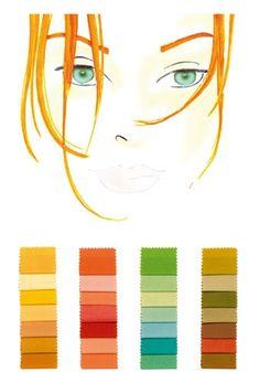 Farbtyp hell-warm: Die optimalen Farben