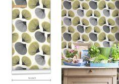 WR0344PPC - Parasols Scatter Wallpaper. Contemporary, illustrative and original wallpaper collection from Byron Bay designer Maraya Rodostia...