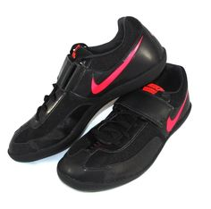 Nike Zoom Rival SD Shot Put DiscusThrow Shoes Mens Size 13 Black/Solar Red #