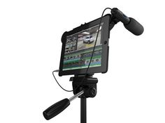 Are you one of the folks that couldn't wait for the iPad to get a camera? If so, we have a perfect iPad case for you - the Movie Mount. Promethean Board, Tech Toys, Cool Technology, Making Machine, New Ipad, Ipad 1, Camera Accessories, Apple Products, Cool Gadgets