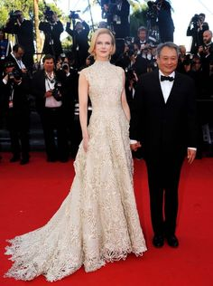 Nicole Kidman in #Valentino at #Cannes 2013, see more red carpet photos at http://www.fashionmagazine.com/blogs/society/red-carpet-society/2013/05/21/best-dressed-cannes-2013-red-carpet/