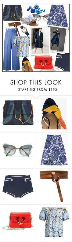 """UPDATED BLUES!!!"" by kskafida ❤ liked on Polyvore featuring Chloé, Miu Miu, Max&Co., Isabel Marant, J.W. Anderson, Peter Pilotto, Sportmax and Tommy Hilfiger"
