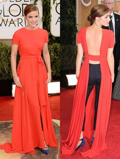 Emma Watson at the 2014 Golden Globes